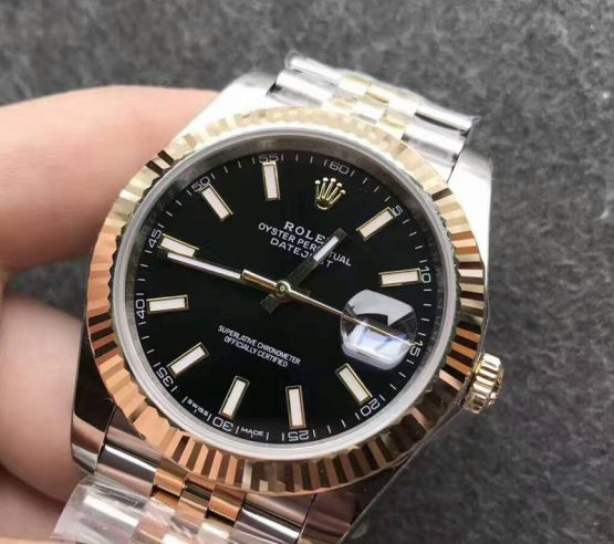 Rolex datejust jubilee two tone