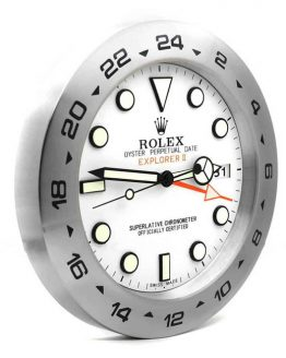 Rolex explorer 2 white display clock