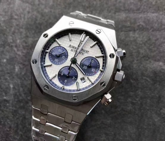 Audemars Piguet Royal Oak chronograph white