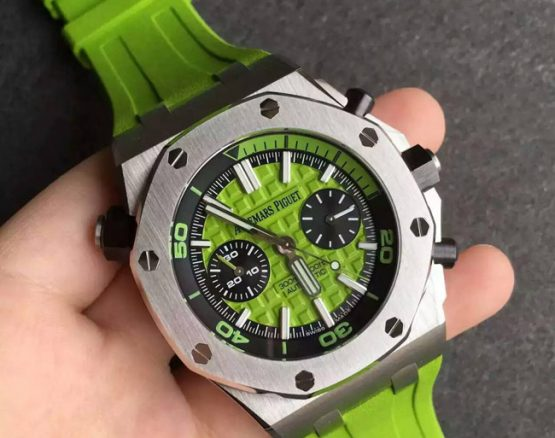 Audemars Piguet Royal Oak diver green