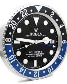 Rolex gmt batman display clock