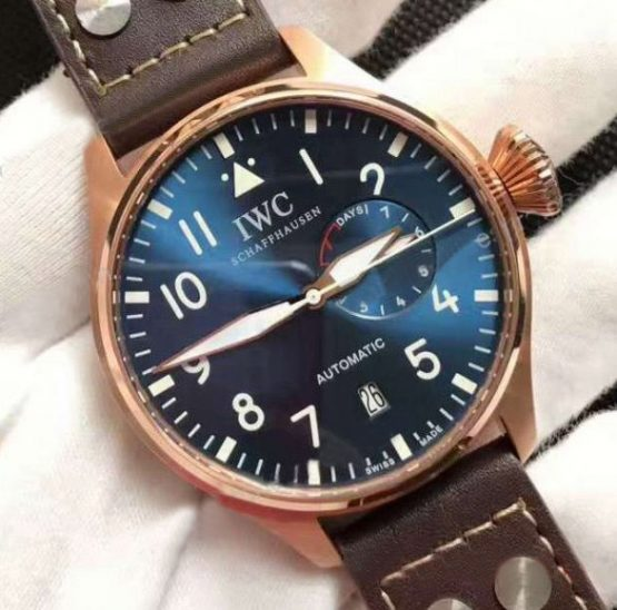 Iwc 7 days Le petite prince blue rose gold