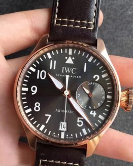 Iwc 7 days Pilot rose gold grey