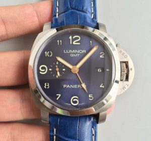 Panerai Luminor gmt blue