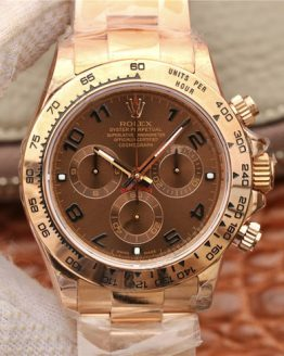 Rolex Daytona full rose gold chocolate