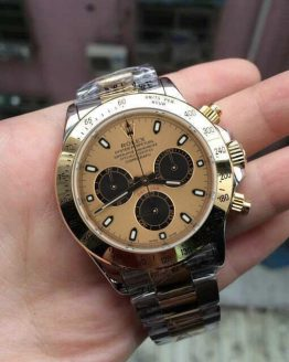 Rolex Daytona two tone gold