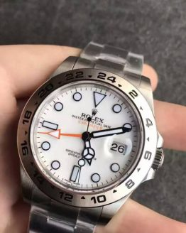 Rolex Explorer white face