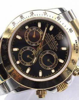 Rolex Daytona two tone black