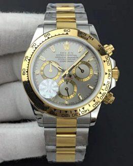 Rolex Daytona two tone grey dial
