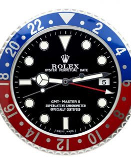 Rolex gmt pepsi display clock