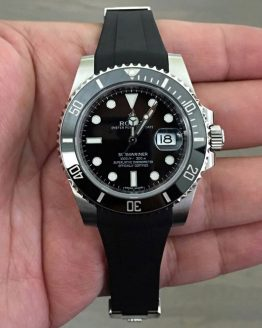 Rolex submariner black rubber b