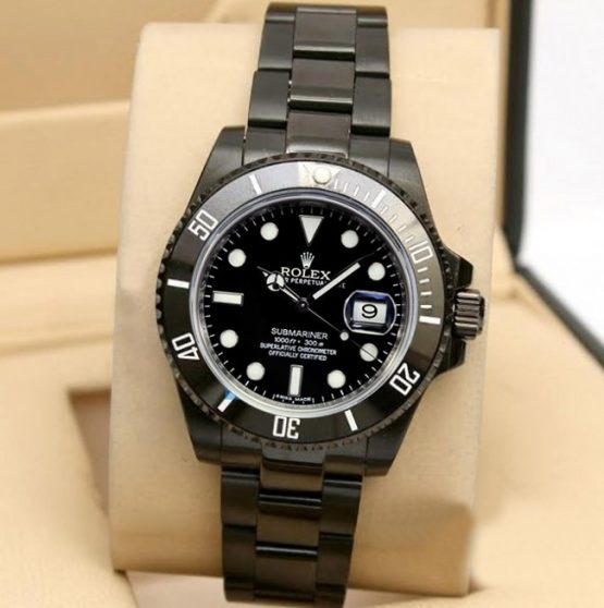 Rolex submariner DLC replica