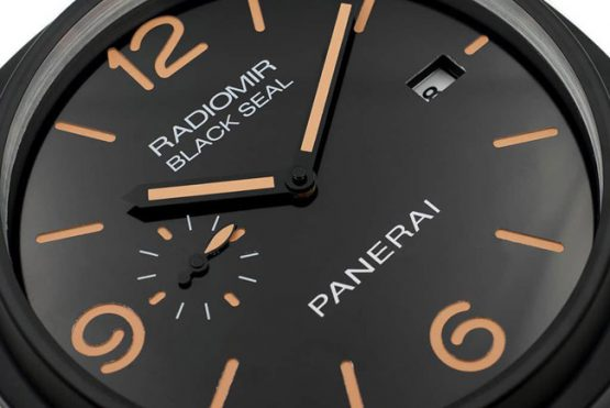 Panerai Radiomir black seal display clock D1