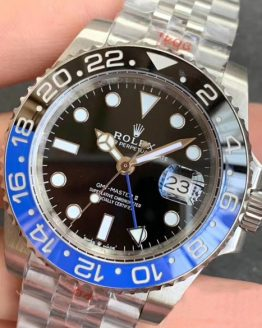 Rolex gmt jubilee batman