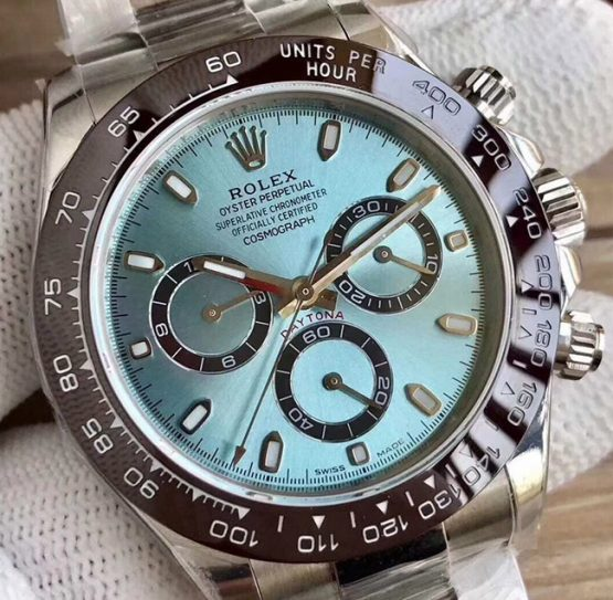 Rolex Daytona blue ice