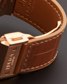 Hublot big bang ladies brown