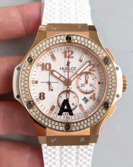 Hublot big bang ladies white