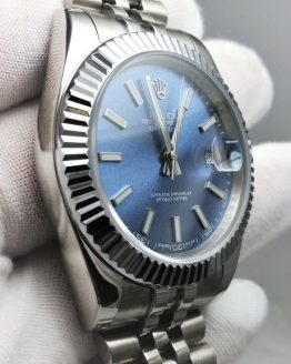 Rolex Datejust blue jubilee